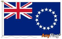- COOK ISLANDS ANYFLAG RANGE - VARIOUS SIZES